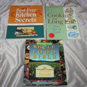 Modern Cook book lot of 3